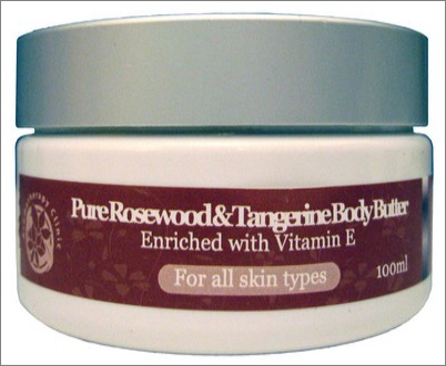 Rosewood and Tangerine Body Butter